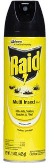 Bình xịt côn trùng Raid Multi Insect Killer