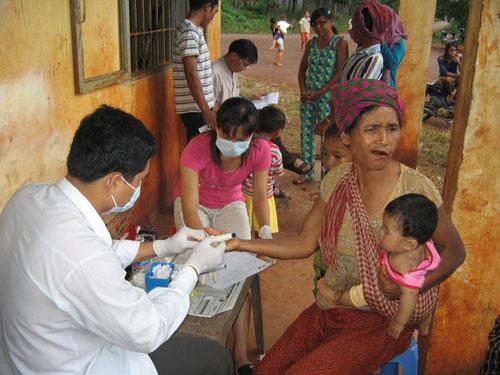 Côn trùng truyền bệnh sốt rét kháng thuốc
