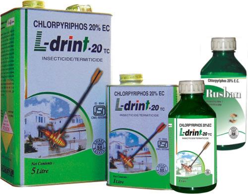 Thuốc diệt mối L-Drint-20TC Chlorpyriphos 20% E.C