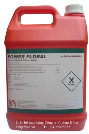 Hóa chất khử mùi không khí Power Floral