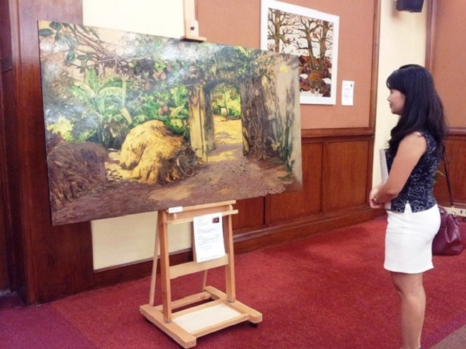 Chống mối mọt cho tranh sơn mài bằng Sơn Ott-namu
