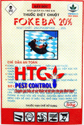 Thuốc diệt chuột FORKEBA
