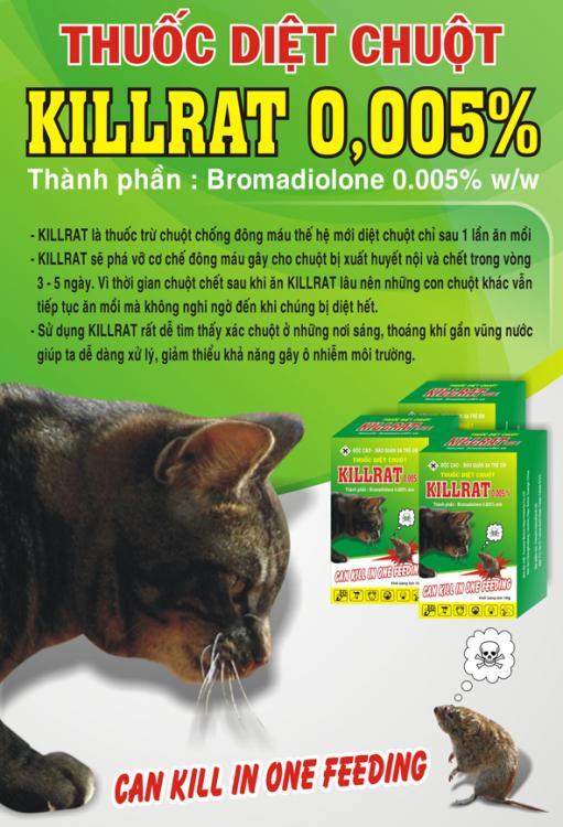 Thuốc diệt chuột KILL-RAT