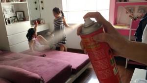 Thận trọng khi tự ý phun thuốc muỗi tại nhà