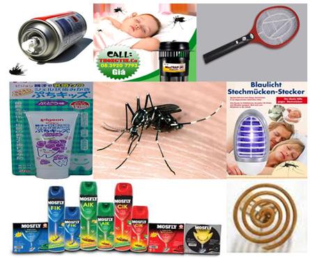 Diệt muỗi bằng cách nào?