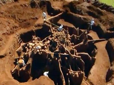 Khai quật 'Vạn Lý Trường Thành' của loài kiến