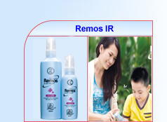 Xịt chống muỗi Mentholatum Remos 60ml