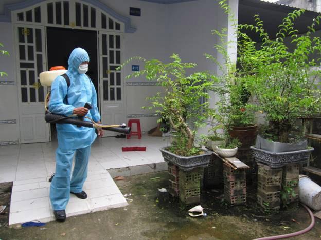 Hơn 6.600 ca mắc bệnh sốt xuất huyết ở Đà Nẵng